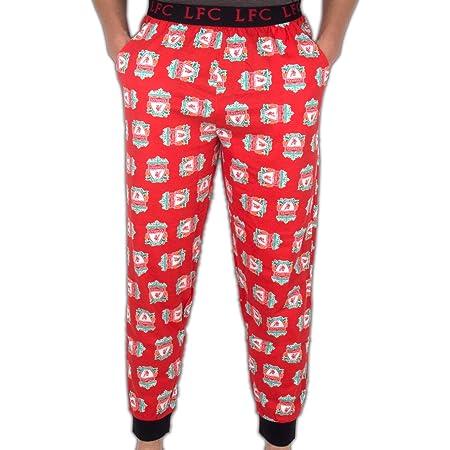 Liverpool FC Mens Lounge Pants Pyjama Bottoms Official Football Gift