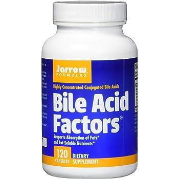 Jarrow Formulas Bile Acid Factors, Supports Absorption of Fats, 120 Capsules