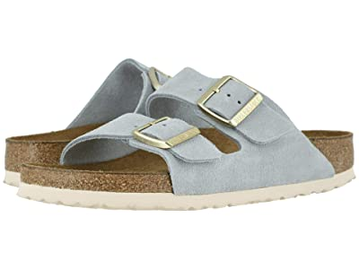 Birkenstock Arizona Soft Footbed (Light Blue Suede) Women