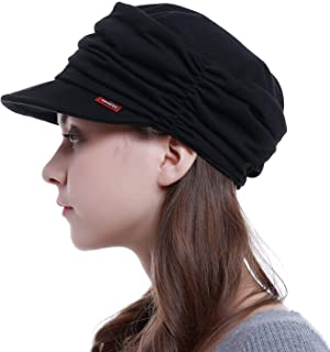 HatsCity Fashion Hat Cap with Brim Visor for Woman Ladies