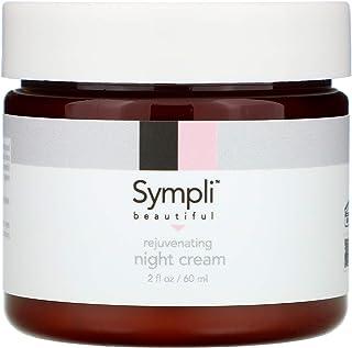 Sympli Beautiful, Rejuvenating Night Cream, 2 fl. oz (60 ml)