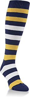 Worlds Softest Striped Team Womens Over the Calf Socks One Size Fits Most