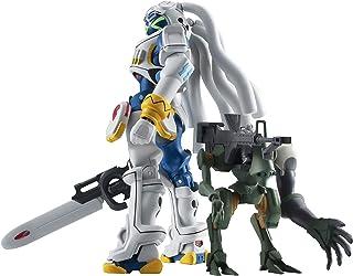 ROBOT魂 OVERMAN キングゲイナー キングゲイナー&ガチコ 約130mm ABS&PVC&PET製 塗装済み可動フィギュア