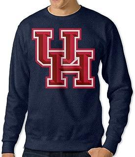 Houston Cougars LOGO Men's Navy Soft Hoodie Outwear