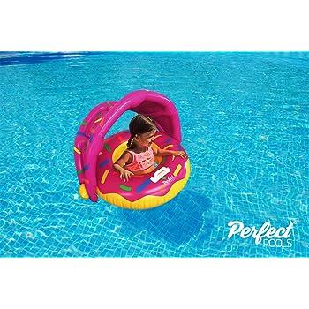 Perfect Pools Flotador Inflable Para Piscina Para Bebés - Anillo ...