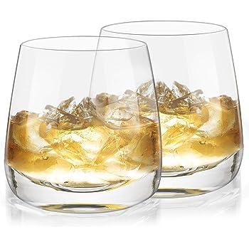 Eneru ウイスキーグラス ロックグラス コップ おしゃれ 2個セット250ml お酒 山崎/白州/竹鶴/響/余市/宮城峡 男性/父親にプレゼント 結婚式ギフト