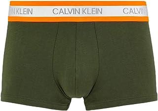 كالفن كلاين سروال بخصر مطاطي للرجال ، مقاس S ، اخضر