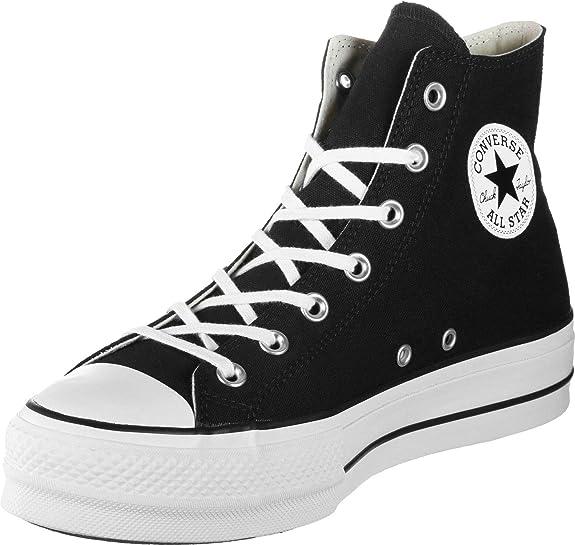 converse chuck taylor ctas lift hi scarpe da ginnastica alte donna