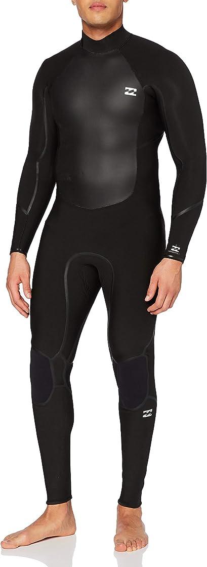 Muta da uomo billabong absolute 4/3mm gbs-muta con zip posteriore da uomo, nero,taglia s U44M58