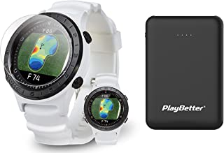 $209 » Voice Caddie A2 Hybrid Golf GPS Watch Power Bundle | Includes PlayBetter Portable Charger & HD Screen Protectors | 2021 Go...