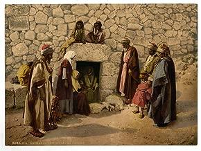 Historic Photos 1890 Photo Tomb of Lazarus, Bethany, Holy Land, (i.e. West Bank)