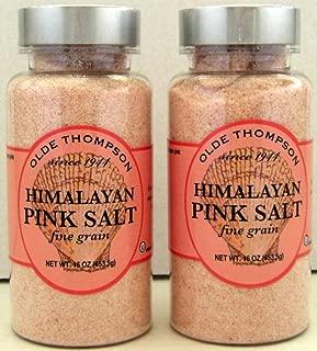 Himalayan Pink Salt--2--16 oz Bottles