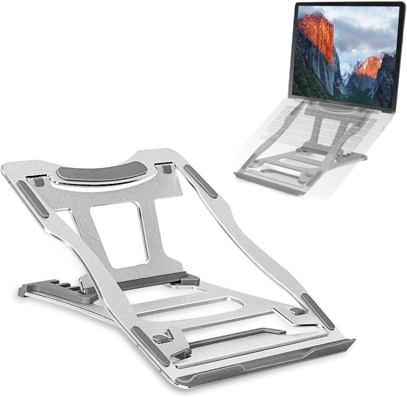 Laptop Stand Houston Mall for Desk JSVER Adjustable Aluminum 9 Philadelphia Mall