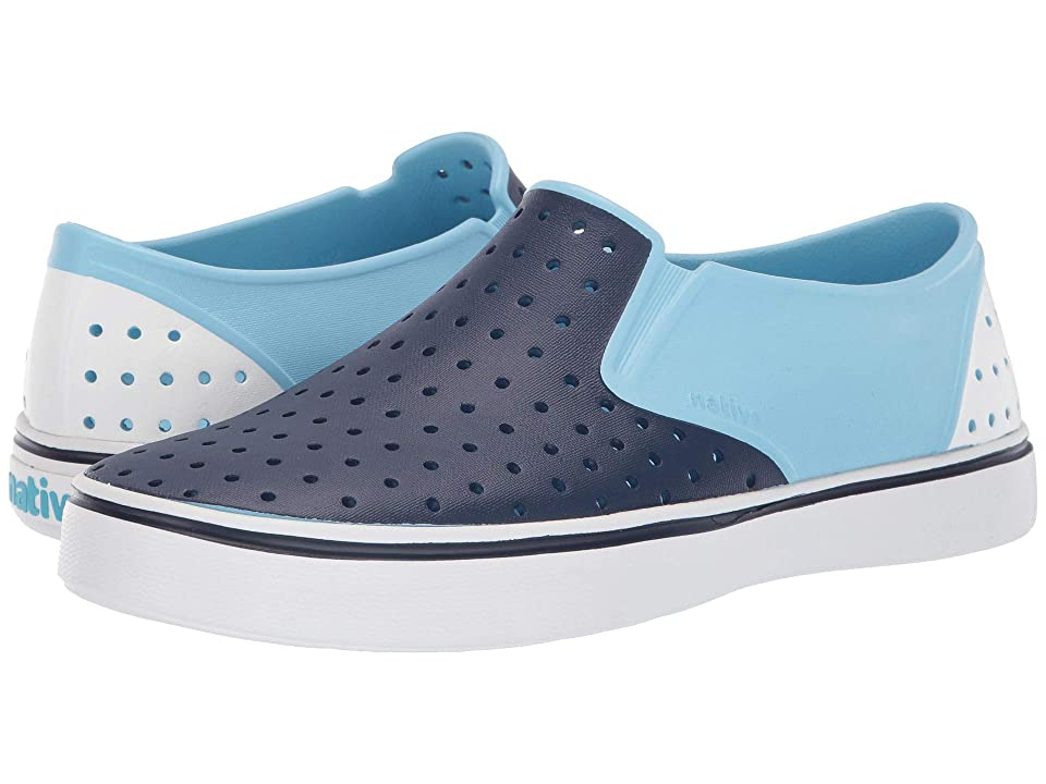 Native Shoes Miles (Sky Blue/Regatta Blue/Shell White/Shell White Block) Athletic Shoes