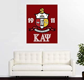 purenet Kappa Alpha Psi On Canvas Made in US (12X14)