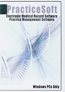 (EMR) Electronic Medical Record (EMR) Software and Practice Management Software Suite, E-PracticeSoft Professional, Patient Scheduling, Medical Billing All in One, Windows PCs Only