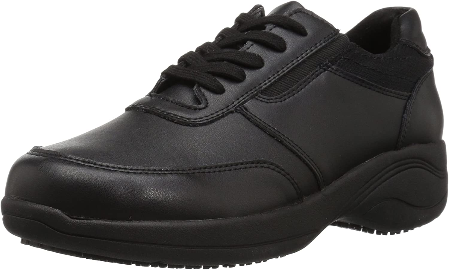 Easy SEAL limited product Works Women's Middy Health Award Shoe Care me Black Professional