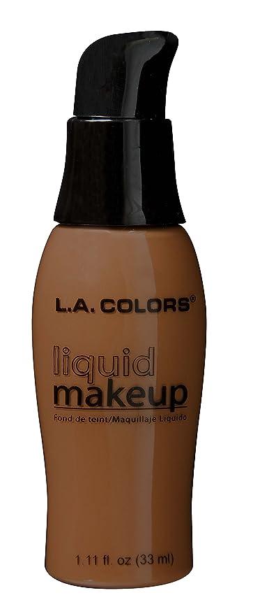 助手指定そこLA COLORS Liquid Makeup Beautiful Bronze (並行輸入品)