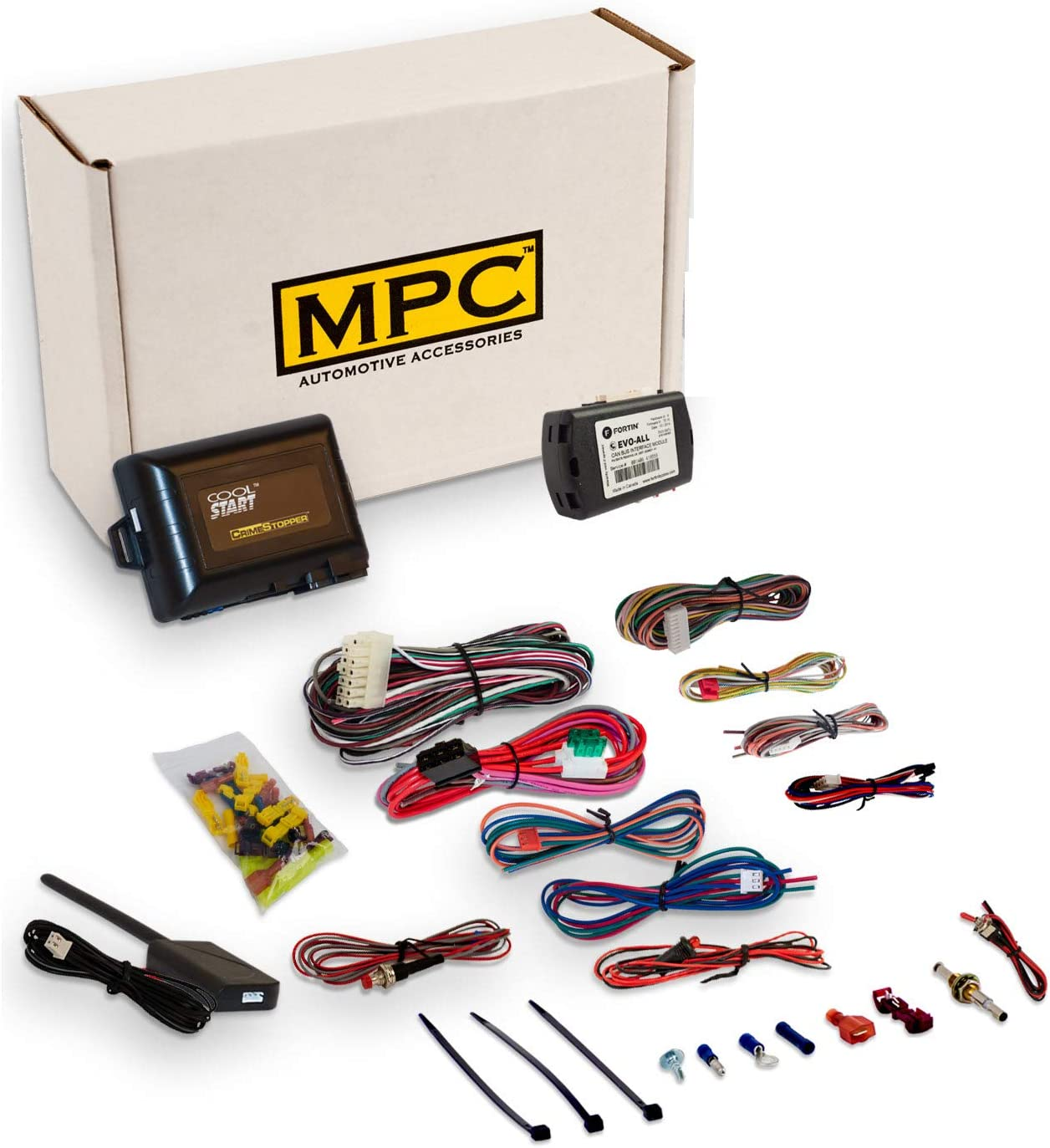 Ranking TOP18 MPC Complete 5-Button Remote Start Kit Entry Louisville-Jefferson County Mall for 20 Keyless with