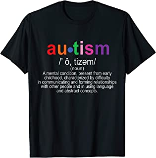 Best autism definition shirt Reviews