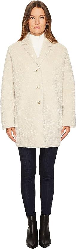 The Kooples - Fake Fur Kimono-Style Coat