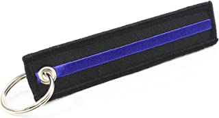 Rotary13B1 Thin Blue Line - Key Chain