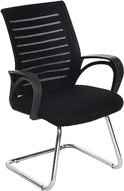 Da URBAN® Tulip Medium Back Office Visitor Chair (Black) (1 pc)