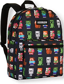 "Minecraft Kids Characters 16"" Backpack"