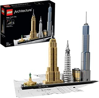comprar comparacion LEGO Architecture - New York, Set de Construcción de Nueva York con el Empire State y la Estatua de la Libertad, Regalo Co...