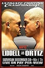 Pyramid America Official UFC 66 Chuck Liddell vs Tito Ortiz Sports Cool Wall Decor Art Print Poster 12x18
