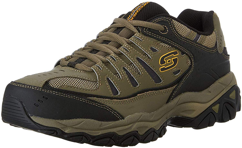 Skechers Afterburn Memory Lace Up Sneaker