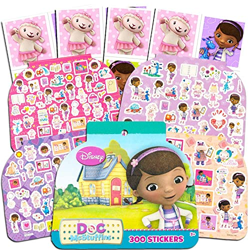 Doc McStuffins Stickers Party Favors Pack Over 300 Fun