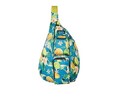 KAVU Rope Sling (Ocean Citrus) Sling Handbags