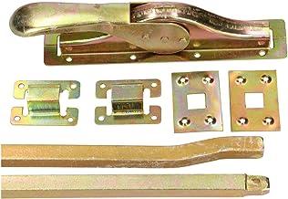 KOTARBAU® Toordrijvers poortsluiting 2500 mm deurbriegel deurbeslag deurslot deurvleugel deurvergrendeling garageslot poor...