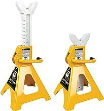 Performance Tool 3 Ton (6,000 lbs.) Capacity Heavy Duty Jack Stand Set, W41022