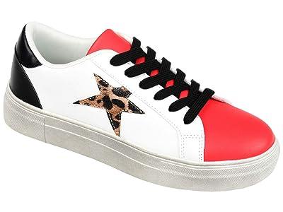 Journee Collection Comfort Foamtm Adair Sneaker (Leopard) Women