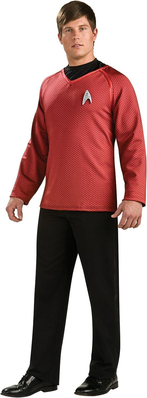 Ranking TOP16 Rubie's Costume Star Trek Max 42% OFF Grand Emble With Heritage Scotty Shirt