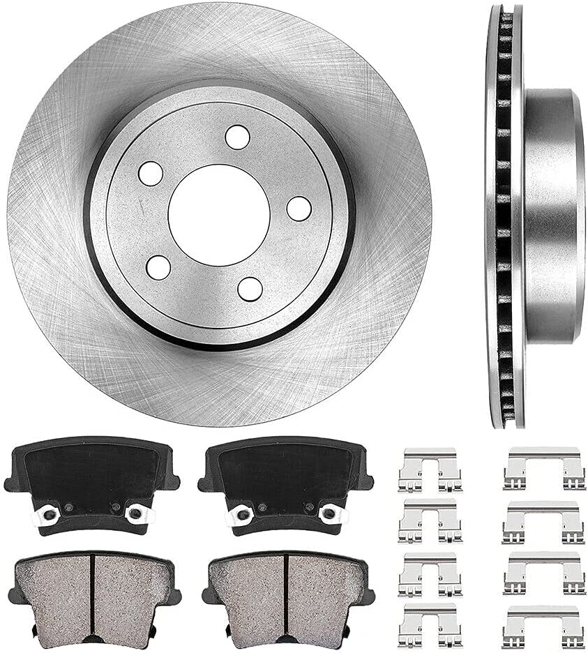 Rear Brake Rotors Ceramic Pads Excellence Magum with Wagon Cheap sale Sedan Compatible