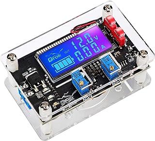 Voltage Boost Converter, DROK DC 6-30V 5V Step Up to DC 7-32V 12V 24V 5A Adjustable Volt Regulator, LCD Power Supply Modul...