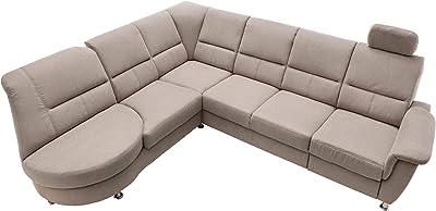 Lifestyle4living Ecksofa Mit Relaxfunktion In Grau 4 Sitzer Relaxsofa Usb Microfaser Stoff Federkern Polsterung Gemutliche Relax Couch In Modernem Design Amazon De