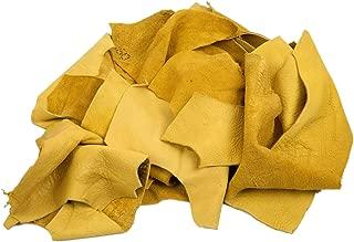1 Pound of Elk Leather Scrap Remnants (421-LB-CRSM) K22