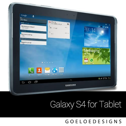 Galaxy S4 theme for Tablets