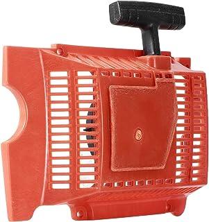 Omabeta Conjunto del arrancador de Retroceso Arrancador de Retroceso y Retroceso Reemplazo del arrancador de Retroceso Duradero y Resistente al Desgaste para Motosierra eléctrica 181281288 288XP