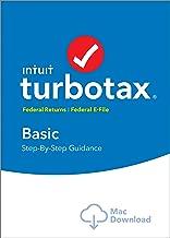 TurboTax Basic 2018 Tax Software [MAC Download]