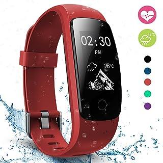 Fitness Tracker, moreFit Slim Touch HR Heart Rate Waterproof Activity Tracker Wireless Bluetooth Smart Bracelet Watch Sleep Monitor Pedometer