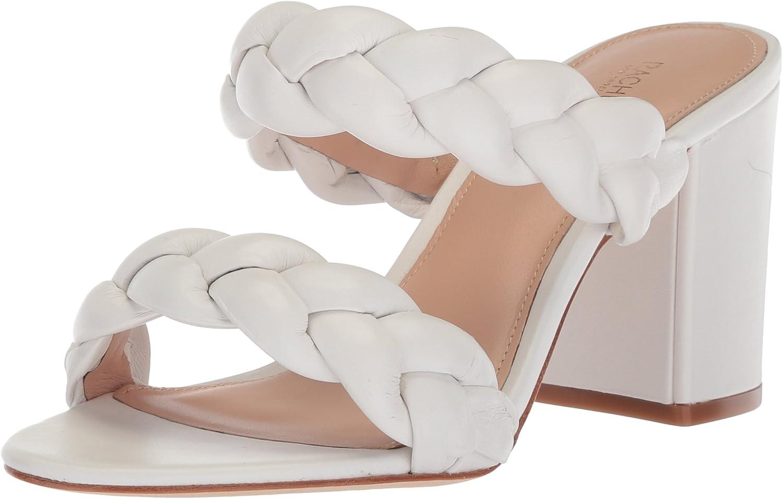 Rachel Zoe Womens Demi Sandal Braid Heeled Sandal
