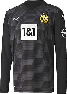 PUMA Unisex Kids BVB Gk Shirt Replica Ls Jr W.Sponsor New Goalkeeper Shirt