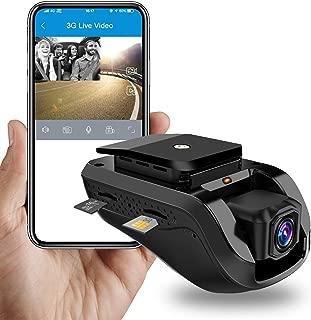 Dual Dash Cam Dashboard Camera 3G WiFi Dash Cam JimiIoT JC100 GPS Dash Cam Dashboard Cam for cars Dual Dash Camera Recorder-16GB TF Card Free |Live Video|Remote Video&Photo|Night Vision|Loop Recording