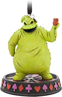 Disney Oogie Boogie Sketchbook Ornament - Glow-in-the-Dark