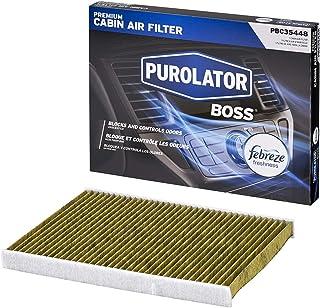 Purolator PBC35448 PurolatorBOSS Premium Cabin Air Filter with Febreze Freshness